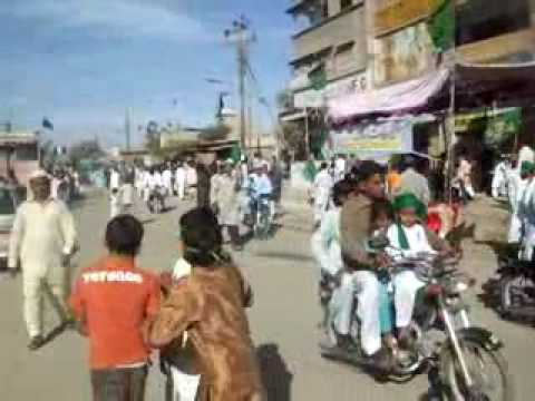 12 rabi un noor juloos subhani masjid to gulshan e bahar orangi town