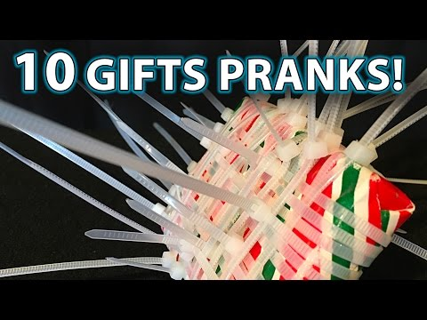 Top 10 Holiday Gift PRANK Ideas!