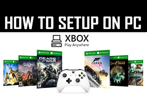 How to Setup XBOX Play Anywhere Program on PC (Xbox One Tutorial)