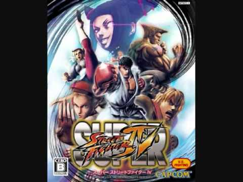 Super Street Fighter IV - Training Stage Theme Extended (Normal Fighting Transition)