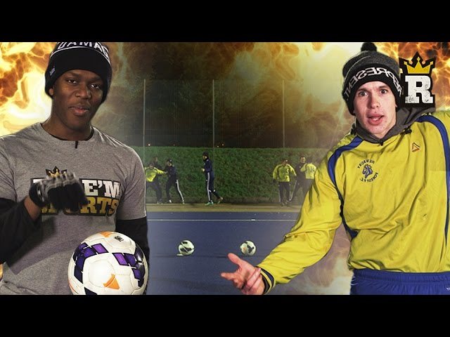 Team KSI vs. Team Joe Weller: Dodgeball Challenge | Rule'm Sports