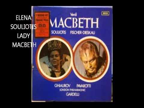 ELENA SOULIOTIS  Concerto a Fidenza il 3 10 1964  GIOCONDA e MACBETH