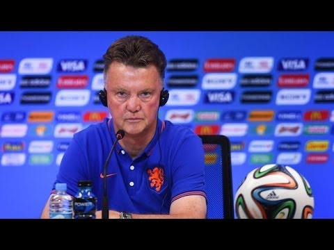 World Cup 2014 - Louis van Gaal Focused On World Cup - Man Utd Not A Distraction