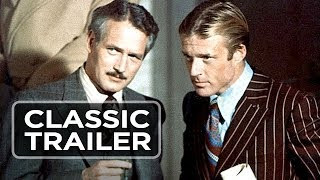 The Sting Official Trailer #1 - Paul Newman, Robert Redford Movie (1973) HD