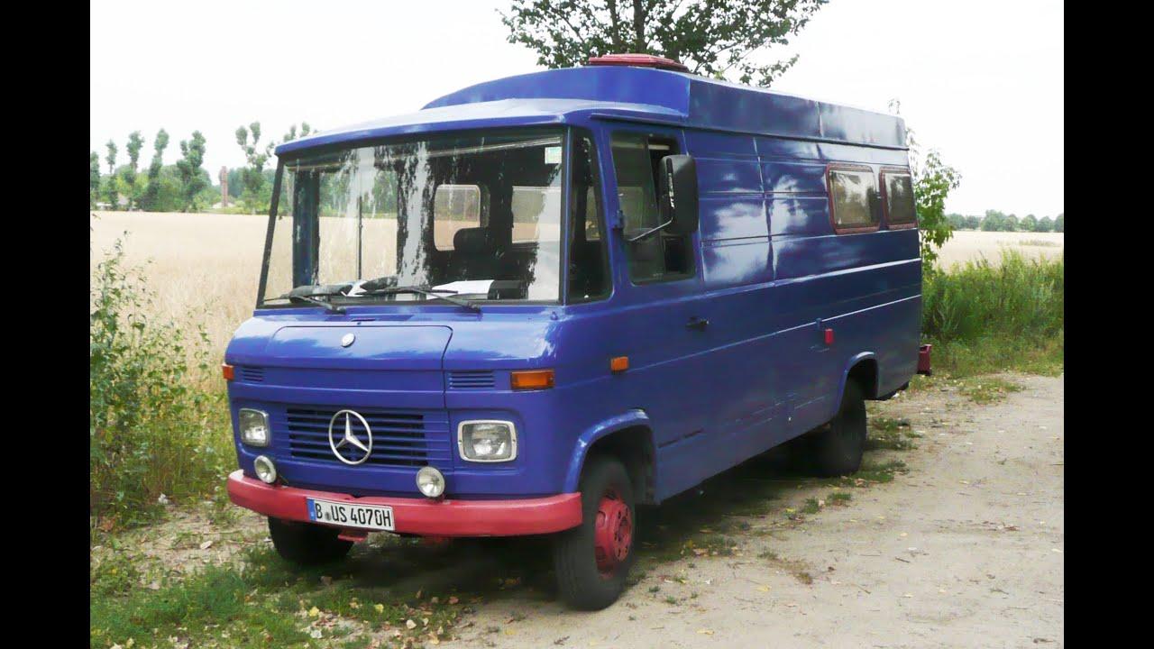 Mercedes Benz 407 D Mit 3 5t Zulassung Und H Kennzeichen