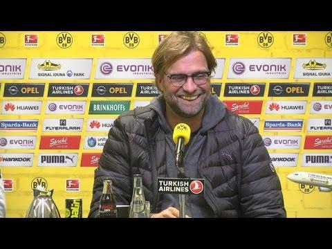 Pressekonferenz: Jürgen Klopp vor dem Auswärtsspiel beim SC Paderborn