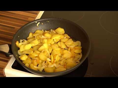 Как правильно пожарить картошку. Одесские рецепты. How to fry potatoes.