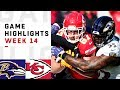 Ravens vs. Chiefs Week 14 Highlights | NFL 2018