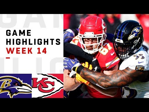 Ravens vs. Chiefs Week 14 Highlights  NFL 2018