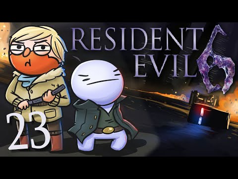 Resident Evil 6  w Cry! [part 23] - Boss Fight 2.0? video