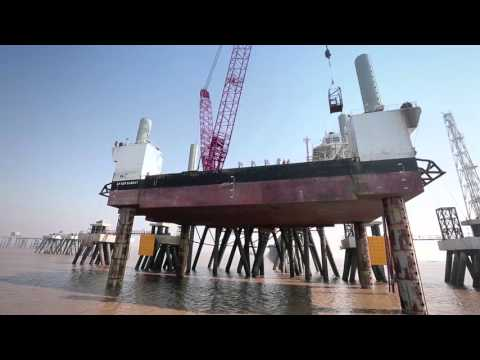 LNG Jetty - Dahej Film