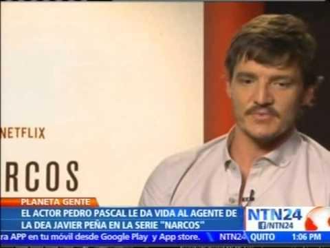 Pedro Pascal de 'Narcos' en Planeta Gente de NTN24
