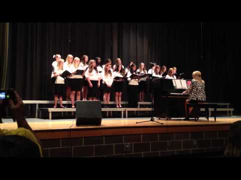Weddington Middle School 8th Grade Girls Choir - On My Own - Spring 2013
