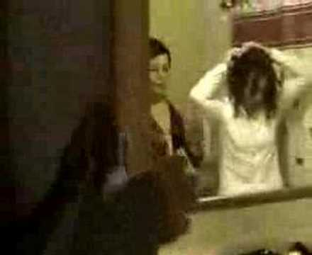 bride has massive Hair Wig Out (ORIGINAL)