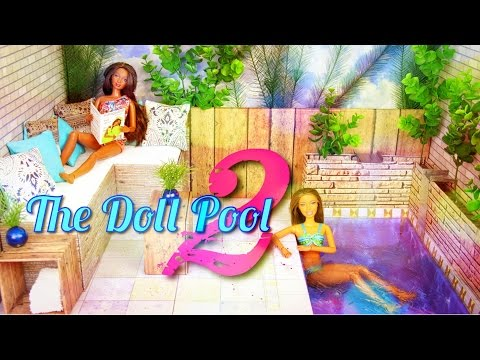 How to Make a Doll Swimming Pool 2