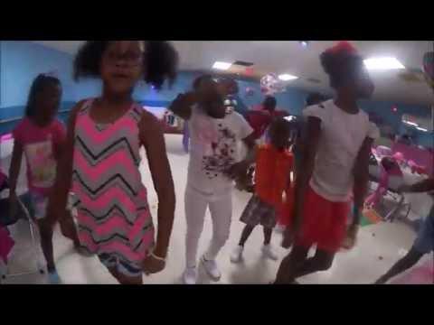 KIDS HIP HOP DANCES!!!! VUITTON'S 7TH BIRTHDAY BAY (REGGAE ARTIST NINO BROWN'S PRINCESS)