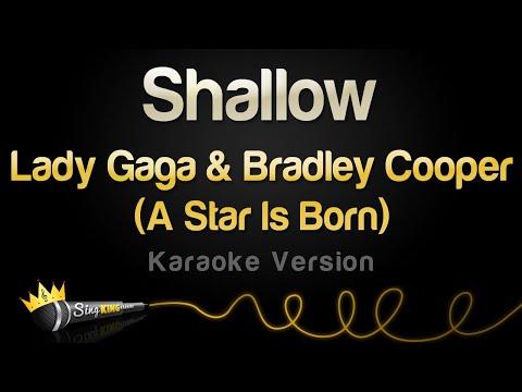Lady Gaga, Bradley Cooper - Shallow (A Star Is Born) (Karaoke Version)