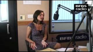 Lucy Verasamy live on The Sim Courtie Breakfast Show - BFBS RADIO