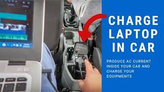 अब गाड़ी में बनेगी बिजली | Gadget for long Trips | Car Inverter