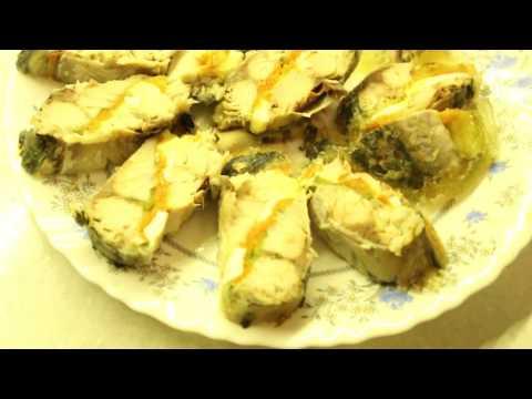 Скумбрия по царски - очень вкусная и красивая холодная рыбная закуска