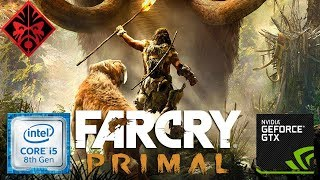 Far Cry Primal 1080p ( I5 8300H GTX 1050 ) - HP OMEN
