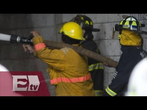 Se registra fuerte incendio en Iztapalapa / Vianey Esquinca