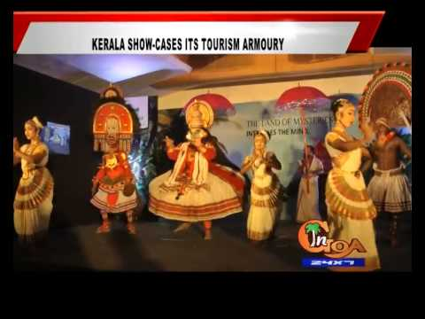 KERALA SHOW CASES ITS TOURISM ARMOURY