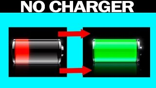 CHARGE ANY iPHONE WITHOUT THE CHARGER (Life Hacks)