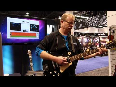 Fishman TriplePlay Wireless MIDI Guitar Demo - Winter NAMM 2012