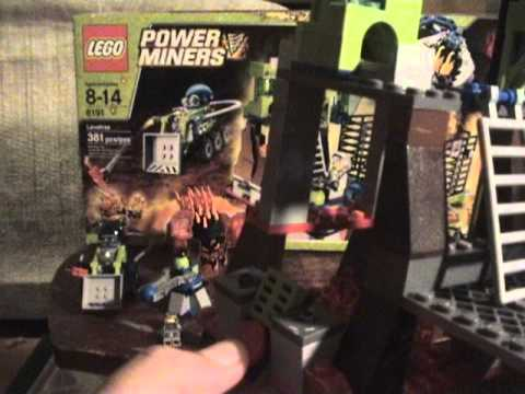 Lego Power Miners Lavatraz Review: Brick Boy