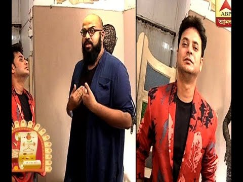 A Glimpse of actor Rahul's Pujo fashion prepared by fashion designer Abhishek Roy