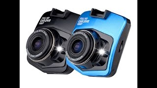 Car DVR Camera Novatek GT300  Day and night (2+2 min)