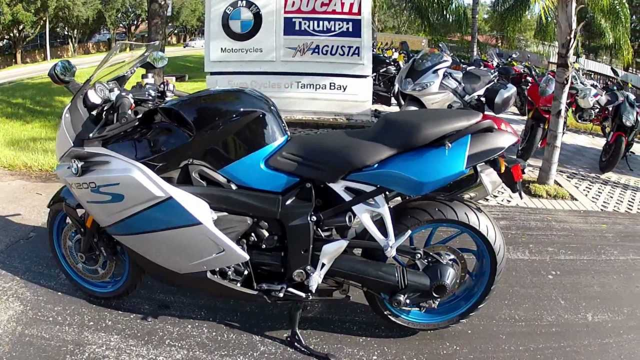2007 Bmw K1200s In Silver And Blue Is At Euro Cycles Of