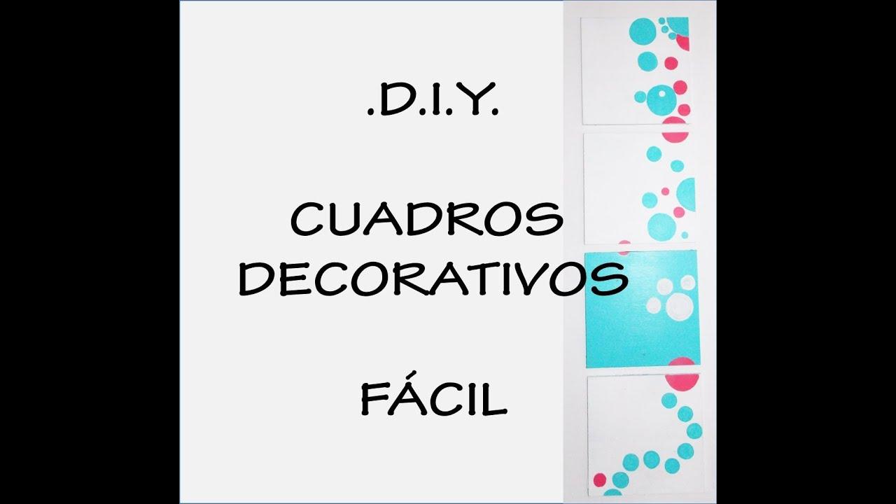 Cuadros decorativos f cil de hacer hazlo tu mismo diy - Cuadros faciles de hacer ...