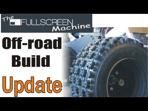 Update Go Kart , Building █  ( The Fullscreen Machine )