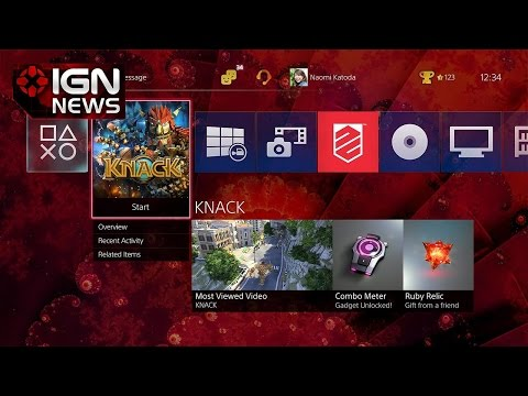 Big Changes Coming in PlayStation 4's 2.0 Firmware - IGN News