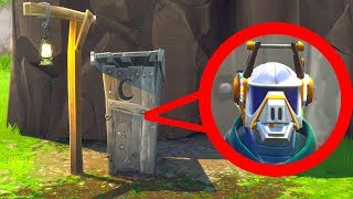 Lustiges Versteck in Lonely Lodge ! (IQ= Stein) l Fortnite Hide and Seek !