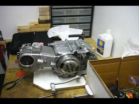 Honda TB 88 with RH Installation Part 1