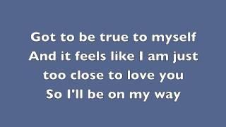 Alex Clare-Too Close-Lyrics (MJ1 Cover)
