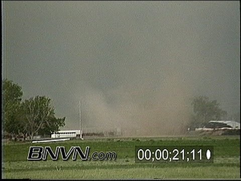 6/2/1997 Weldona Colorado Tornado stock video