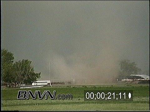 6/2/1997 Weldona Colorado Tornado stock video