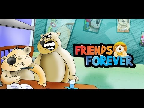 Kids Moral Story -friends Forever English By Pari - Animated Stories For Kids-kids Story video