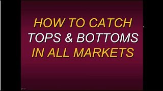 "Steven Primo  ""How To Catch Tops And Bottoms In All Markets in 2018"""