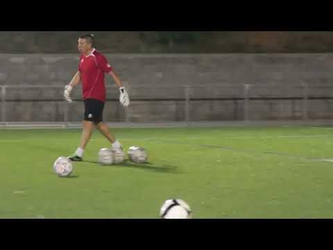 Entreno Porteros- Ejercicios de velocidad y reacción II