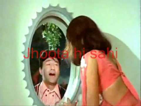 Pal Bhar Ke Liye-Karaoke & Lyrics-Johny Mera Naam