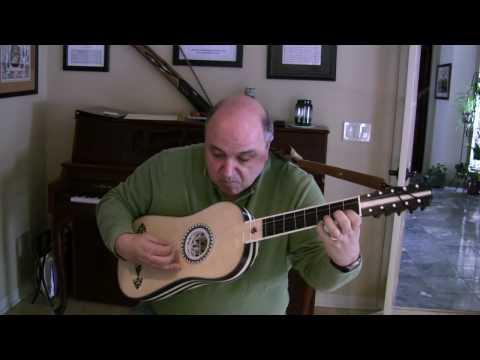 Prelude by Corbetta for Baroque Guitar