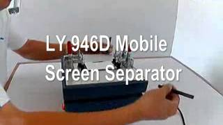 LY 946D mobile screen spit & repair machine,mobile screen separator