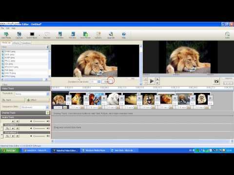 videopad video editor como colocar musica