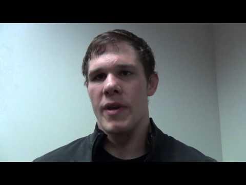 Nathan Burak after win at 197 at Grapple on the Gridiron