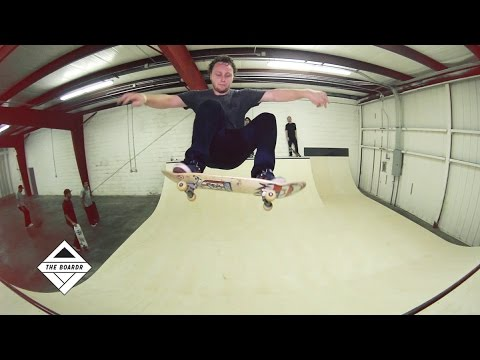 Ribbon Cutting! The First Session at The Boardr Mini Ramp